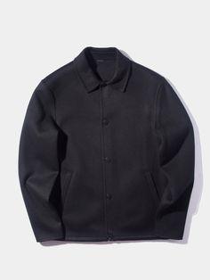 Tony Doublé Wool/Cashmere Coaches Jacket