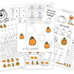If you have a few last minute things on your Halloween to do list and are looking for something fun to keep preschool hands busy while you speed through a recipe or finish sewing a costume, these cute printable coloring pages, perfect for Halloween and Fall, can be downloaded for free.