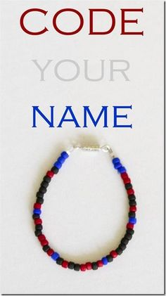 Write your name in binary code - this is a fun STEM and STEAM intro to programming activity for kids!