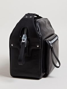 Lanvin Men's Camera Bag From AW13 Collection In Black