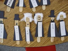 Presidents' Day Craft for kids. They love them! Stop by for some great February ideas to use in your  K-2 classroom!