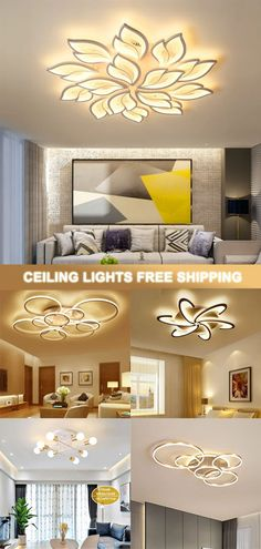 FREE SHIPPING ON ORDERS US$89/ SUPERIOR QUALITY GUARANTEE/ PROMPT CUSTOMER SERVICE Living Room Bedroom, Living Room Decor, Bedroom Decor, Living Room Lighting, Home Lighting, Home Interior Design, Interior Decorating, Bedroom False Ceiling Design, Led Ceiling Lights
