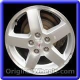 Chevrolet Cobalt 2010 Wheels & Rims Hollander #5269 #Chevrolet #Cobalt #ChevroletCobalt #2010 #Wheels #Rims #Stock #Factory #Original #OEM #OE #Steel #Alloy #Used