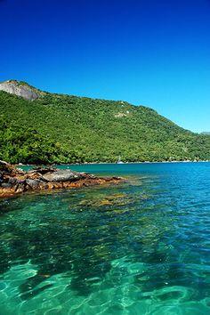 Lagoa Azul, Ilha Grande, Rio de Janeiro, Brasil...