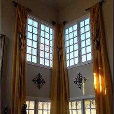 1000 images about 2 story great room ideas on pinterest for 2 story window treatments