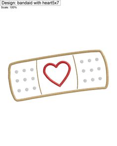 Hey, I found this really awesome Etsy listing at https://www.etsy.com/listing/191452641/bandaid-heart-applique