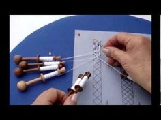Jean Leader's demonstration of how to make leaf-shaped tallies in Bedfordshire bobbin lace. Lace Saree, Teneriffe, Bobbin Lacemaking, Bobbin Lace Patterns, Lace Heart, Lace Jewelry, Tatting Lace, Earring Tutorial, Needle Lace