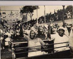 Clementina de Jesus e Mestre Candeia - desfile da escola de samba Grande…