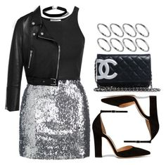 """""""Sin título #11876"""" by vany-alvarado ❤ liked on Polyvore featuring Glamorous, Topshop, Mulberry, Gianvito Rossi, Chanel and ASOS"""