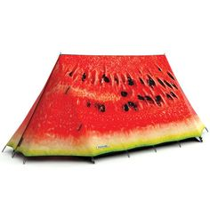 What A Melon Tent, $785, now featured on Fab.  Kind of pricey for a little slice of fun!