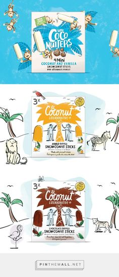 Coconut Collaborative - Packaging of the World - Creative Package Design Gallery - http://www.packagingoftheworld.com/2016/06/coconut-collaborative.html