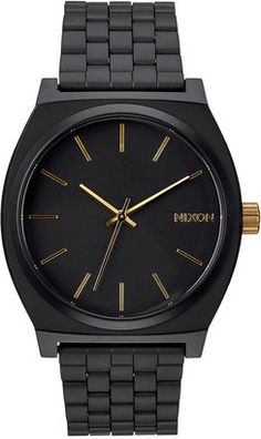 Shop Nixon Time Teller Stainless Steel Bracelet Watch 37mm A045 on ShopStyle.com