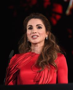 Royal Family Around the World: Queen Rania of Jordan Attend the 2016 Celebrity Fight Night Italy Benefiting The Andrea Bocelli Foundation and The Muhammed Ali Parkinson Center on September 11, 2016 in Florence, Italy.