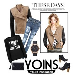 """""""yoins"""" by nylover-998 ❤ liked on Polyvore featuring Mode, Marc Jacobs und yoins"""