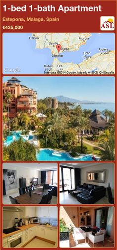 1-bed 1-bath Apartment in Estepona, Malaga, Spain ►€425,000 #PropertyForSaleInSpain