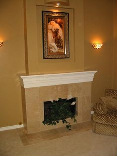 walnut travertine tile fireplace ideas visit tileshop com