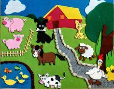 Old Mc Donald had a farm ... #crafts2dio