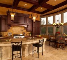 Classical Elegance from Royal Cabinet Company  #kitchendesign #kitchens