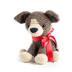 Scout the puppy, pattern in Zoomigurumi 5 - amigurumi pattern book on Amigurumipatterns.net