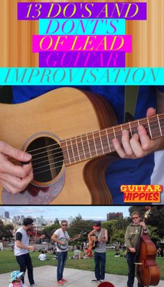 13 Do's And Dont's Of LEAD GUITAR Improvisation. GuitarHippies - Your Musical Journeys TOP Inspiration Point