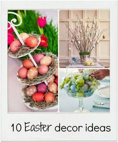 10 Easter decor ideas