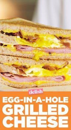 Junior's Egg-in-a-Hole Grilled Cheese