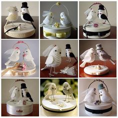 Let's make ours a toucan! de bolo de casamento by Maria Handmade, via Flickr