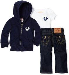 True Religion Newborn | True Religion Baby-Boys Infant Classi... Sold Out thestylecure.com