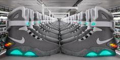 """Nike annonce le laçage automatique """"Power Laces"""" de Marty McFly"""