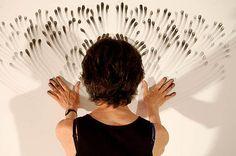 Judith Braun, fingerprint art
