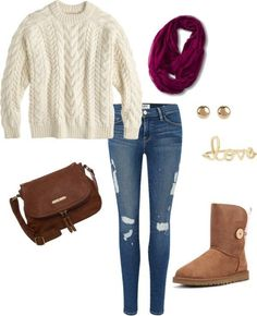Cute Comfy Outfit: http://www.countryoutfitter.com/style/dos-donts-ugg-boots/?lhb=style (scheduled via http://www.tailwindapp.com?utm_source=pinterest&utm_medium=twpin&utm_content=post597917&utm_campaign=scheduler_attribution)