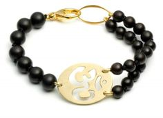 (c)God-dess Om Bracelet  www.presentsforpupose.com