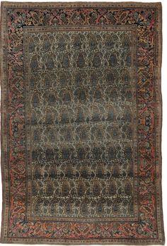 Keschan  Alter:  Antik  Herkunft: Iran  Länge: 202, Breite:  133