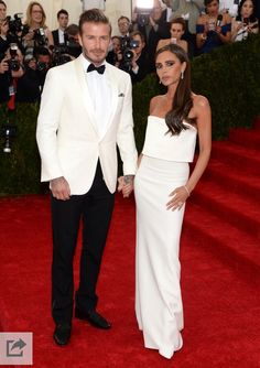 Best Dressed Couple: The Beckhams! Is it hot in here or is it just them?