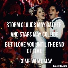 Come What May ~~ Ewan McGregor & Nicole Kidman / Moulin Rouge Soundtrack / 2001 (( MV of this song >> http://youtu.be/-YsMvzgeSuI ))