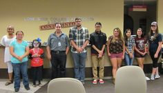 Our spelling contestants at the Spooky Spelling Bee