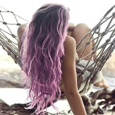 #ombre #purple #hair