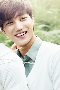 Kai for Nature Republic Short Hairstyles 2015, Cool Hairstyles For Men, Exo Kai, Sehun, Short Hair Cuts, Short Hair Styles, Nature Republic, Kim Jongin, How Beautiful