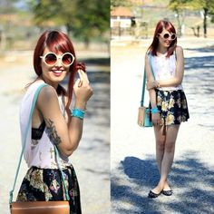 """@Glena Martins's photo: """"Colorful day.  new  #ootd on @LOOKBOOK and blog!"""""""