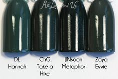 China Glaze Fall 2015 – The Great Outdoors Swatches and Review