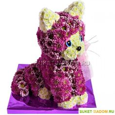 Gallery.ru / Фото #154 - игрушки из живых цветов - semynova