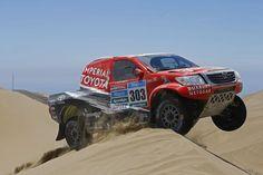South Africa's Giniel de Villers comes 2nd at Dakar 2015