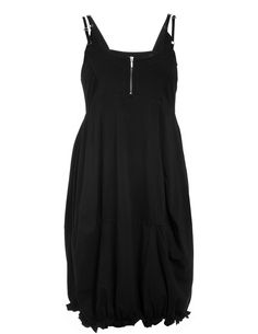 Ultimate Miks Cotton strap dress in Black