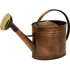 @Overstock - This watering can has a copper appearance and looks like it comes from one of the best antique stores. Handcrafted by artisans in China, this watering can is the perfect addition to any country-chic decor.http://www.overstock.com/Worldstock-Fair-Trade/Handcrafted-Americana-Farmhouse-Friends-Gentle-Rain-Watering-Can/5178946/product.html?CID=214117 $88.99