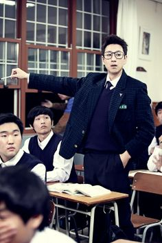 "Lee Sun Kyun in School Uniform for ""Miss Korea"""