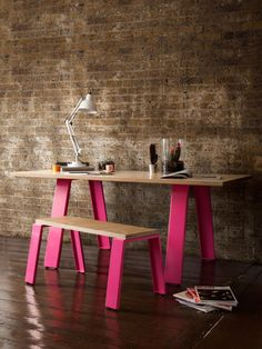 Jennifer Newman Trestle Table and Bench | Form