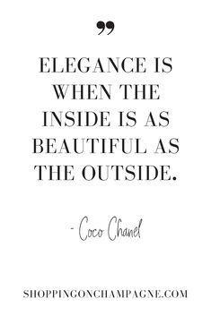 Coco Chanel Elegance Quote - Fits your own style instead of spending hours . - Coco Chanel Elegance Quote – Fits your own style instead of hours of preparation Find stylish mod - Citation Coco Chanel, Coco Chanel Quotes, Style Coco Chanel, Mode Chanel, Coco Chanel Fashion, Chanel Chanel, Chanel Decor, Chanel Runway, Citations Chanel