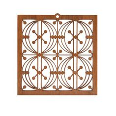 Frank+Lloyd+Wright+Designs+Stencils | Home » Decorative Accessories » Laser Cut Wood Ornaments » Chicago ...