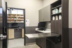 Clinic Interior Design, Clinic Design, Veterinarian Office, Vet Office, Medical Office Design, Pet Hotel, New Hospital, Counter Design, Hospital Design