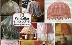 12 Pantallas en crochet - Fotos y patrones